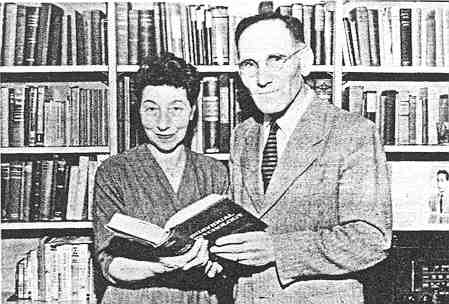 Rowena and Heinz Ansbacher